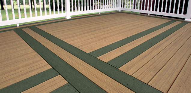 Classic Forest Green Decking