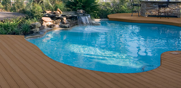 Classic Weathered Wood Decking