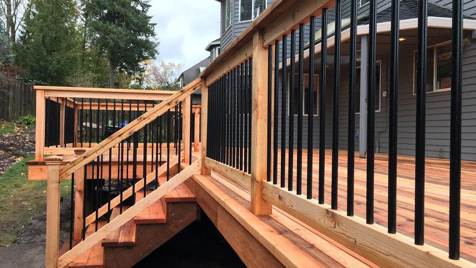 pre-assembled-rail-pannels Conrad Lumber Co