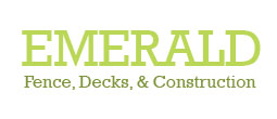 emerald fence decks construction