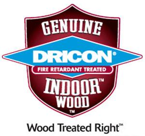 Dricon, genuine, indoor wood