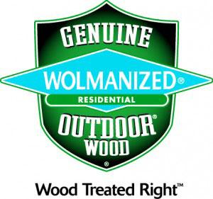 Wolmanized, Genuine outdoor wood