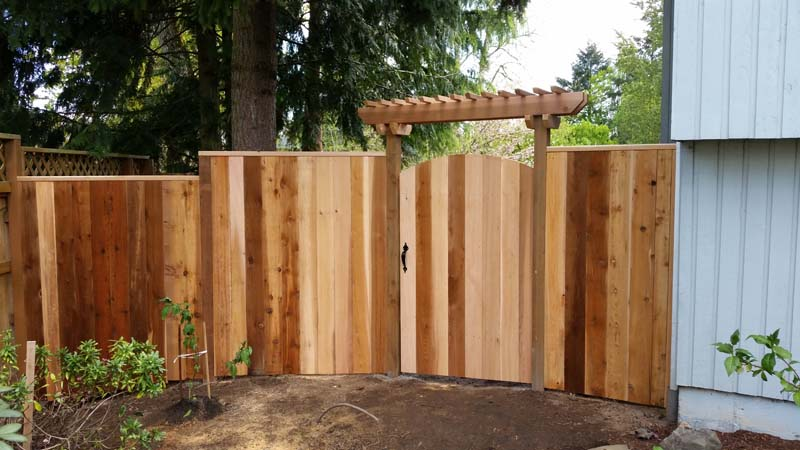 howell fence wood