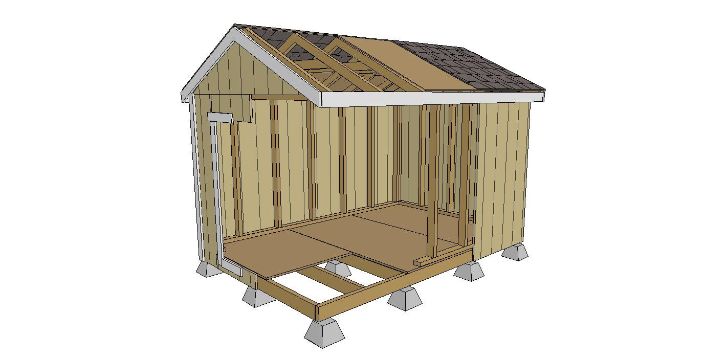 Shed Kit Conrad Lumber Co