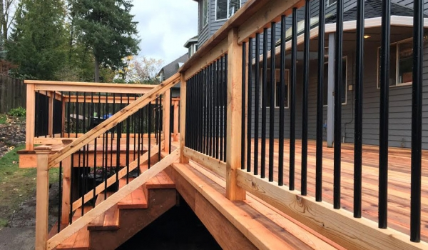 Deck Railing Conrad Lumber Co